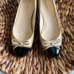 Tahari | Leather Cap Toe Block 'Maisy' Heel